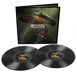 ACCEPT - TOO MEAN TO DIE BLACK VINYL