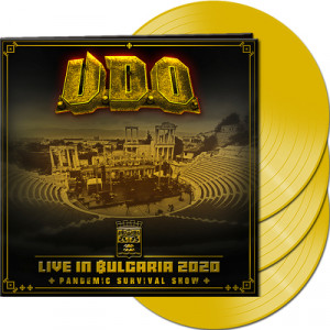 U.D.O. - LIVE IN BULGARIA 2020 - LP YELLOW LTD.