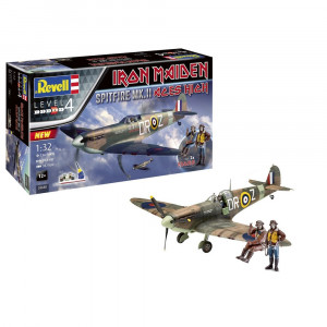 IRON MAIDEN - ACES HIGH - SPITFIRE MK.II REVELL MODEL KIT