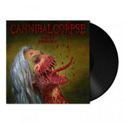 CANNIBAL CORPSE - VIOLENCE UNIMAGINED - LP Black
