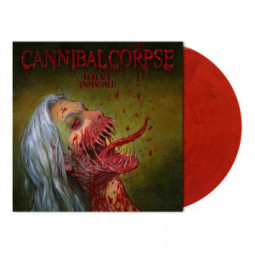 CANNIBAL CORPSE - VIOLENCE UNIMAGINED - LP RED