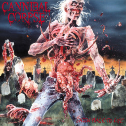 CANNIBAL CORPSE - EATEN BACK TO LIFE - LP