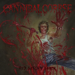 CANNIBAL CORPSE - RED BEFORE BLACK LTD. - LP