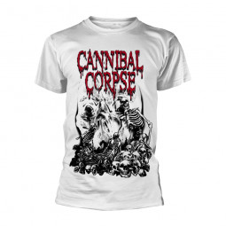 CANNIBAL CORPSE -  PILE OF SKULLS (WHITE)