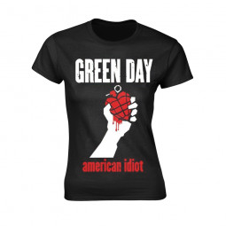 GREEN DAY - AMERICAN IDIOT HEART (BLACK)