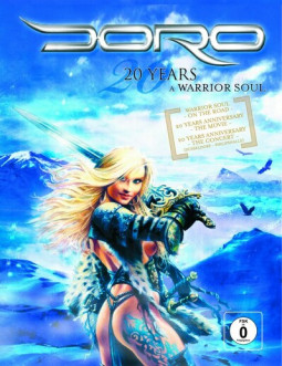 DORO - 20 YEARS - A WARRIOR OF SOUL - DVC