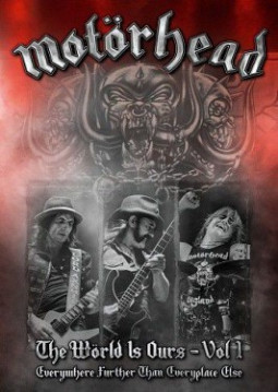 MOTORHEAD - THE WORLD IS OURS - VOL. 1 - DVD