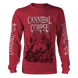 CANNIBAL CORPSE - PILE OF SKULLS 2018 (RED LS)