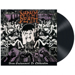 NAPALM DEATH - FROM ENSLAVEMENT - LP