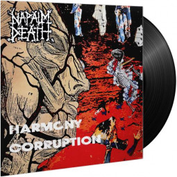 NAPALM DEATH - HARMONY CORRUPTION LTD. - LP