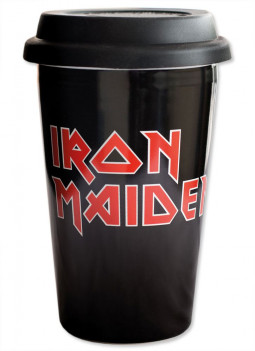 Iron Maiden Travel Mug Logo