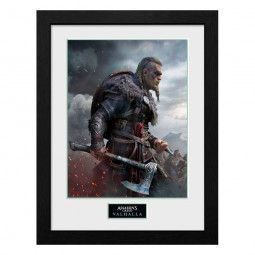 Assassins Creed Valhalla Collector Print Framed Poster Ultimate Edition