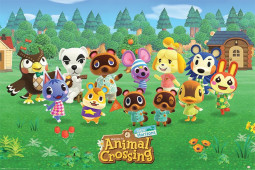 Animal Crossing Poster Pack Lineup 61 x 91 cm (5)