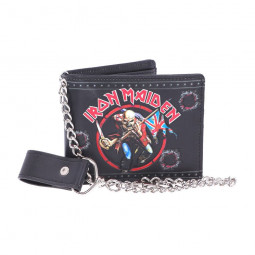 Iron Maiden Wallet The Trooper 11 cm